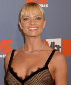 Jaime Pressly during VH1 Big in '05 Arrivals at Sony Studios in Culver City California United States