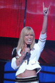 Jaime Pressly host during 2006 VH1 Rock Honors Show at Mandalay Bay Hotel and Casino in Las Vegas Nevada United States