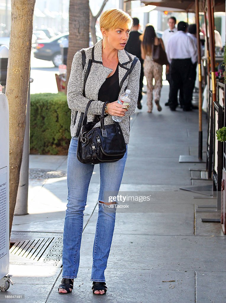 Jaime Pressly is seen on October 21, 2013 in Los Angeles, California.
