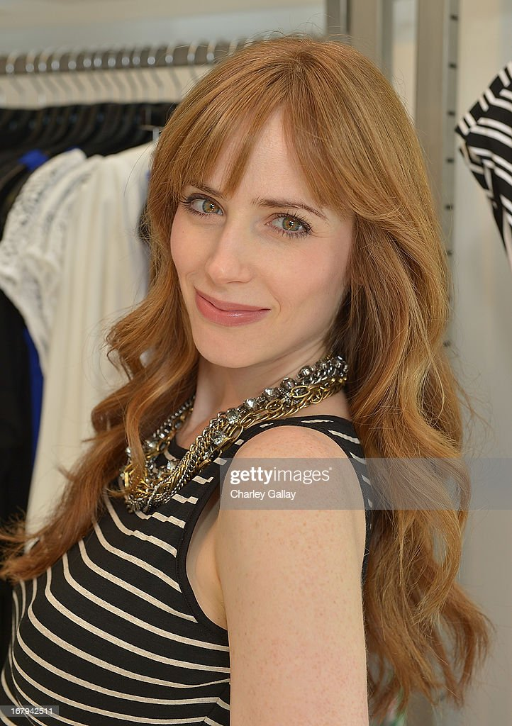 Jaime Ray Newman attends the Milky! launch event at A Pea In The Pod on May 2, 2013 in Beverly Hills, California.