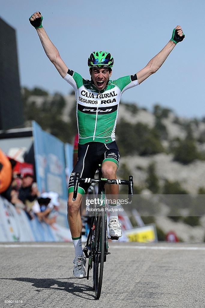 Jaime Roson Garcia of Caja Rural-Seguros RGA reacts after winning Stage 6 of the 2016 Tour of Turkey, Kumluca to Elmali (117 km) on April 29, 2016 in Ankara, Turkey.