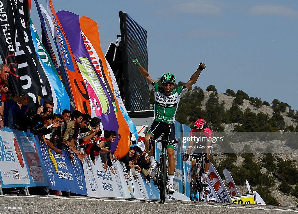 Jaime Roson Garcia of Caja Rural-Seguros RGA the stage of Kumluca - Elmal lap of the 52nd Presidential Cycling Tour of Turkey in Antalya, Turkey on April 29, 2016.
