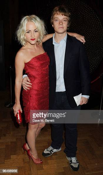 Jaime Winstone and Alfie Allen attend the London Evening Standard British Film Awards 2010 at The London Film Museum on February 8 2010 in London...