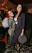Jaime Winstone and Daisy Lowe attend as Sushisamba celebrates its second anniversary with a performance by Lily Allen and a VIP party at Sushisamba...