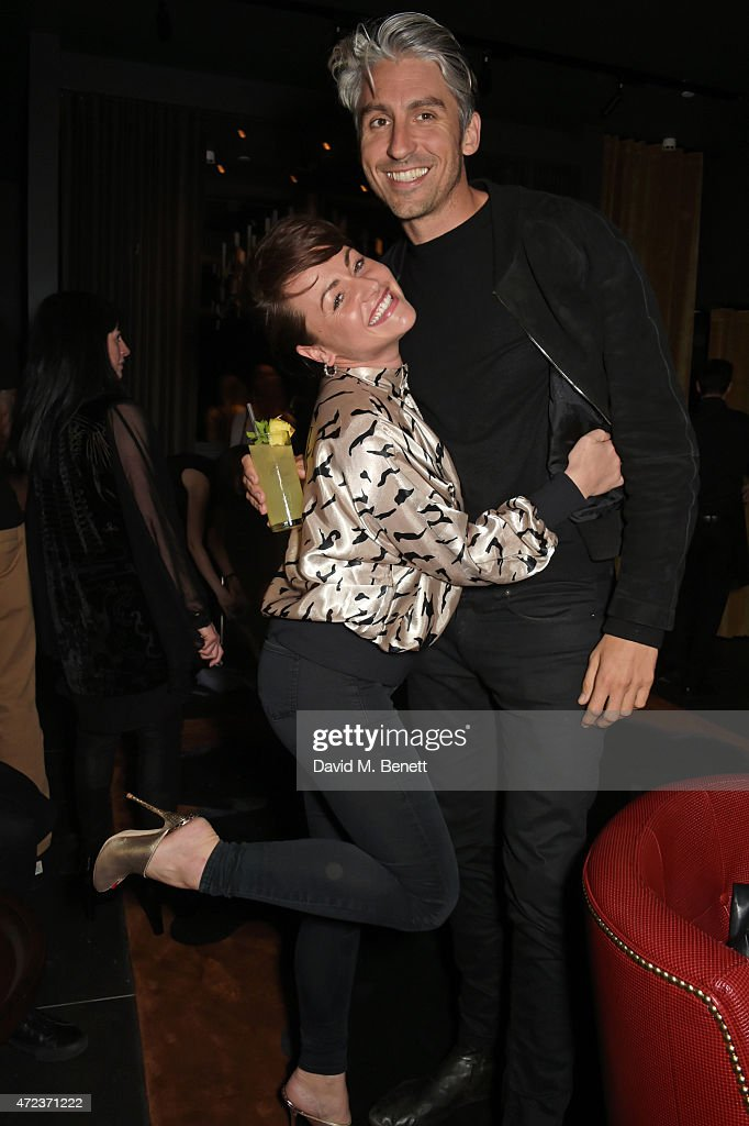 Jaime Winstone and George Lamb attend the St Martins Lane hotel relaunch party at Blind Spot on May 6 2015 in London England