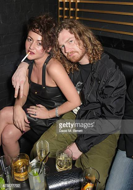 Jaime Winstone and Same Old Sean attend Sam McKnight's 60th Birthday Party at Tramp on May 14 2015 in London England