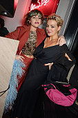 Jaime Winstone and Sheridan Smith attend the InStyle and EE Rising Star Party in association with Lancome Karen Millen and Sky Living at The Ace...