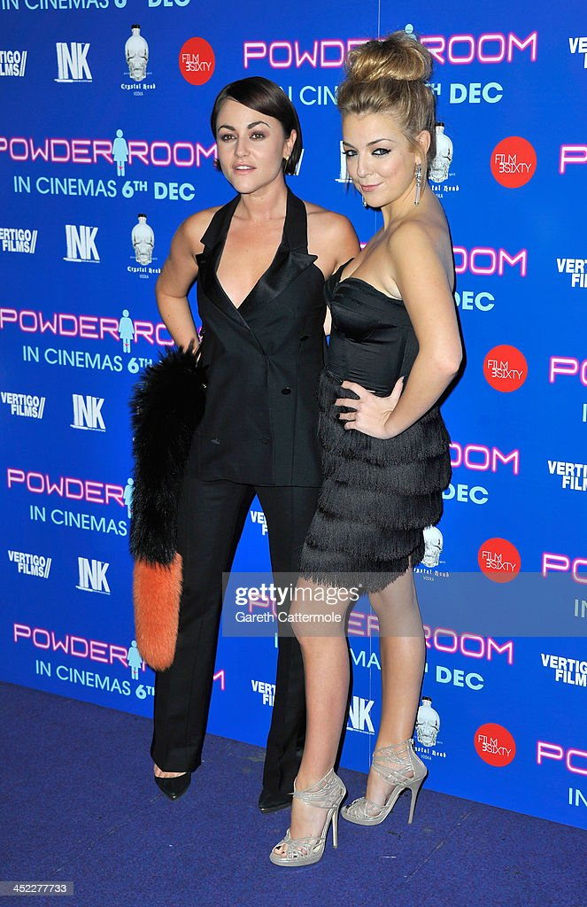 <a gi-track='captionPersonalityLinkClicked' href=/galleries/search?phrase=Jaime+Winstone&family=editorial&specificpeople=834918 ng-click='$event.stopPropagation()'>Jaime Winstone</a> and <a gi-track='captionPersonalityLinkClicked' href=/galleries/search?phrase=Sheridan+Smith&family=editorial&specificpeople=4159304 ng-click='$event.stopPropagation()'>Sheridan Smith</a> attend the UK Premiere of 'Powder Room' at Cineworld Haymarket on November 27, 2013 in London, England.