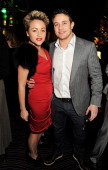 Jaime Winstone and Warren Brown attend the PreBAFTA Party hosted by EE and Esquire ahead of the 2013 EE British Academy Film Awards at The Savoy...