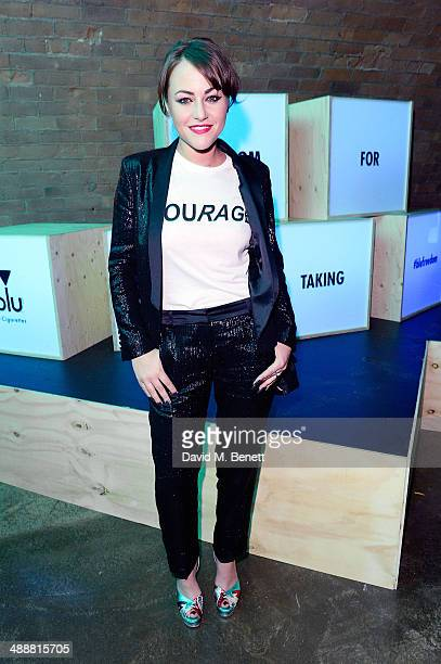 Jaime Winstone at the official UK launch of blu eCigs the premier global electronic cigarette and the start of the brand's forthcoming UK music tour...