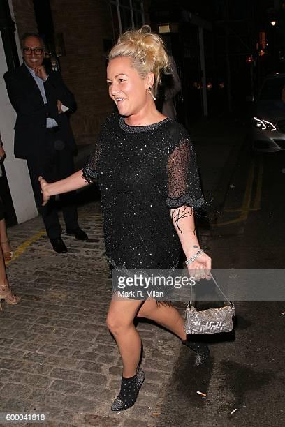Jaime Winstone attending the Ara Vartanian store opening party on September 7 2016 in London England
