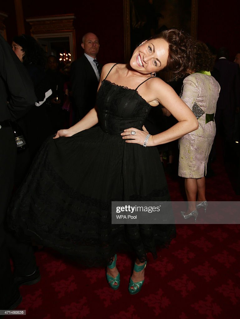<a gi-track='captionPersonalityLinkClicked' href=/galleries/search?phrase=Jaime+Winstone&family=editorial&specificpeople=834918 ng-click='$event.stopPropagation()'>Jaime Winstone</a> attends a reception for the London College of Fashion at St James's Palace on April 28, 2015 in London, England.