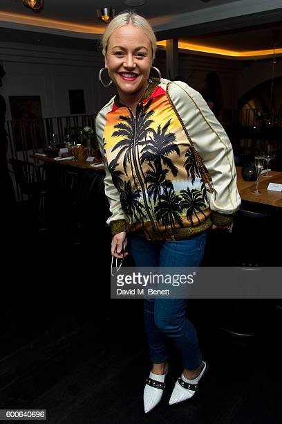 Jaime Winstone attends the Attribute London X Erin Wasson collection launch dinner cohosted by campaign face and design contributor Erin Wasson for...