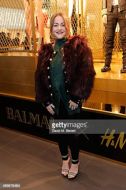 Jaime Winstone attends the Balmain X HM Collection Launch Party on November 4 2015 in London England