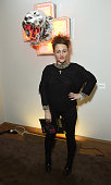 Jaime Winstone attends The 'BE INSPIRED' art exhibition in aid of Save Wild Tigers curated by Christian Furr at the Club at Cafe Royal from 22nd...