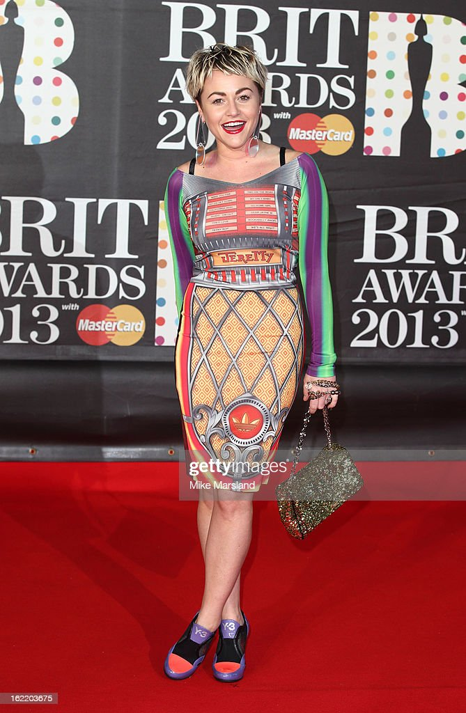 Jaime Winstone attends the Brit Awards at 02 Arena on February 20, 2013 in London, England.
