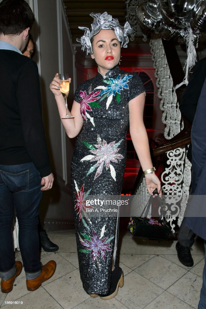 Jaime Winstone attends the Cuckoo Club and Show Pony pop up club at Grosvenor Place on November 24, 2012 in London, England.