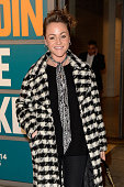 Jaime Winstone attends the Guy Bourdin Image Maker exhibition private view at Somerset House on November 26 2014 in London United Kingdom
