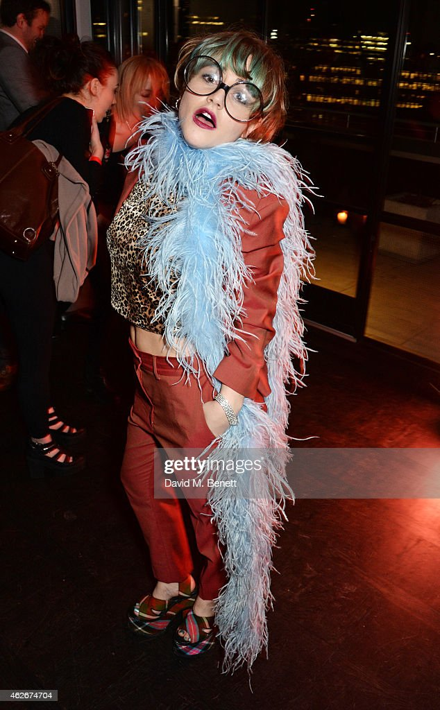 Jaime Winstone attends the InStyle and EE Rising Star Party in association with Lancome Karen Millen and Sky Living at The Ace Hotel on February 2...