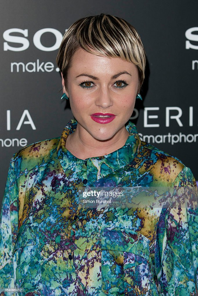 Jaime Winstone attends the launch of the new Sony Xperia Z on March 19, 2013 in London, England.