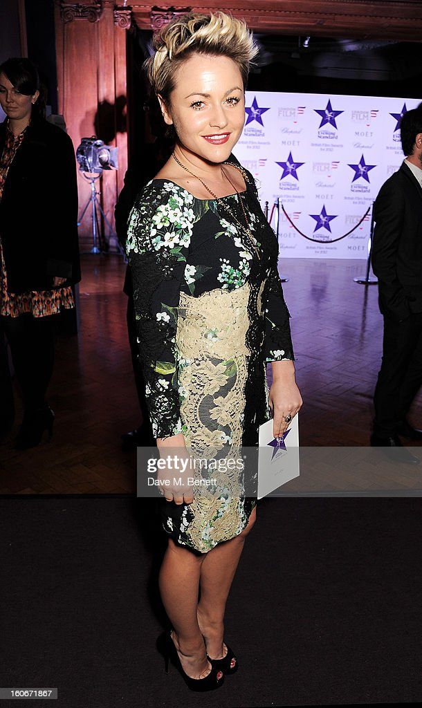 Jaime Winstone attends the London Evening Standard British Film Awards supported by Moet & Chandon and Chopard at the London Film Museum on February 4, 2013 in London, England.