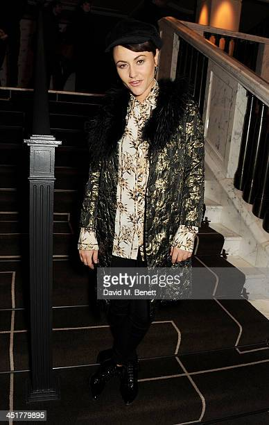 Jaime Winstone attends The Old Vic's 24 Hour Celebrity Gala after party at Rosewood London on November 24 2013 in London United Kingdom