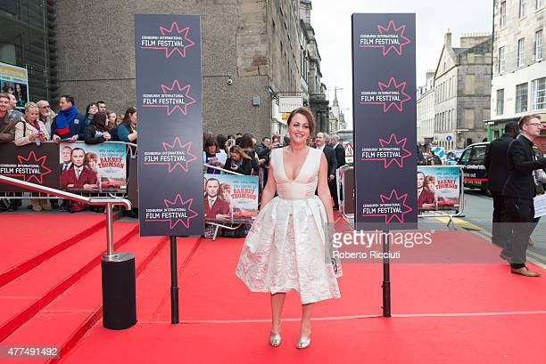 Jaime Winstone attends the Opening Night Gala and World Premiere of 'The Legend of Barney Thomson' during the Edinburgh International Film Festival...