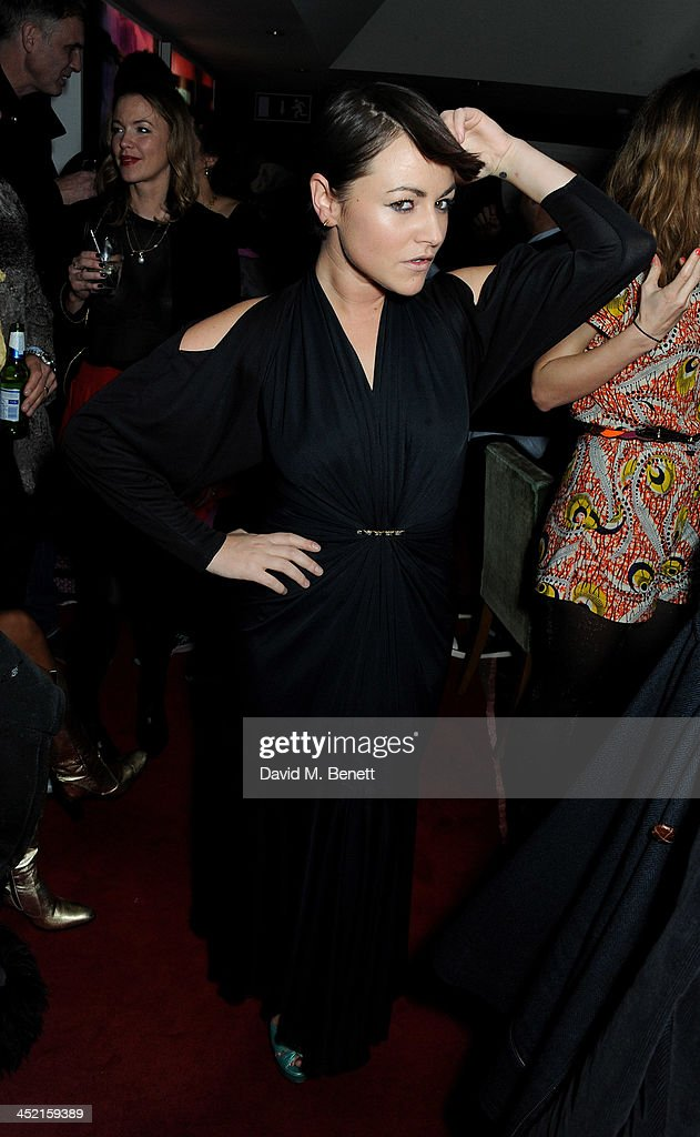 <a gi-track='captionPersonalityLinkClicked' href=/galleries/search?phrase=Jaime+Winstone&family=editorial&specificpeople=834918 ng-click='$event.stopPropagation()'>Jaime Winstone</a> attends the Project Zoltar 10th anniversary celebration and launch of Zoltar the Magnificent at The Groucho Club on November 26, 2013 in London, United Kingdom.