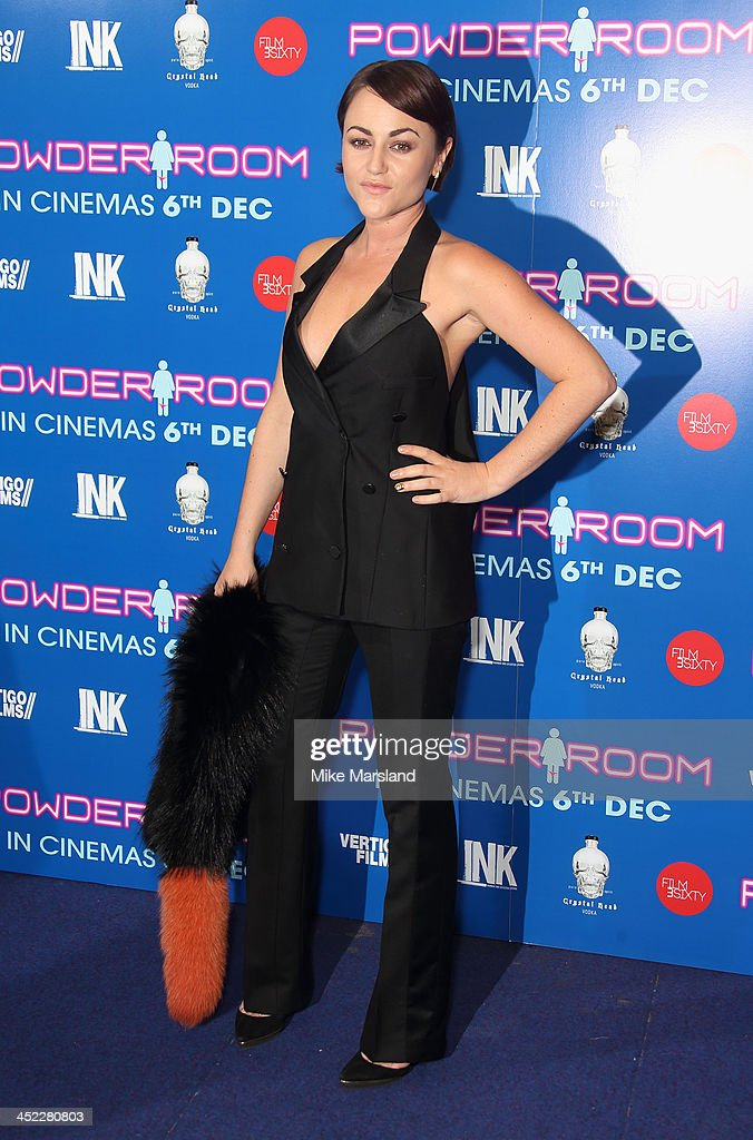 <a gi-track='captionPersonalityLinkClicked' href=/galleries/search?phrase=Jaime+Winstone&family=editorial&specificpeople=834918 ng-click='$event.stopPropagation()'>Jaime Winstone</a> attends the UK Premiere of 'Powder Room' at Cineworld Haymarket on November 27, 2013 in London, England.