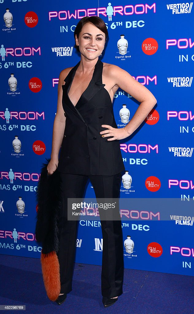 Jaime Winstone attends the UK Premiere of 'Powder Room' at Cineworld Haymarket on November 27 2013 in London England