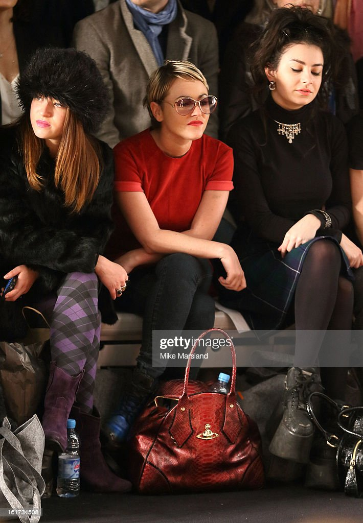 <a gi-track='captionPersonalityLinkClicked' href=/galleries/search?phrase=Jaime+Winstone&family=editorial&specificpeople=834918 ng-click='$event.stopPropagation()'>Jaime Winstone</a> attends the Zoe Jordan show during London Fashion Week Fall/Winter 2013/14 at Somerset House on February 15, 2013 in London, England.