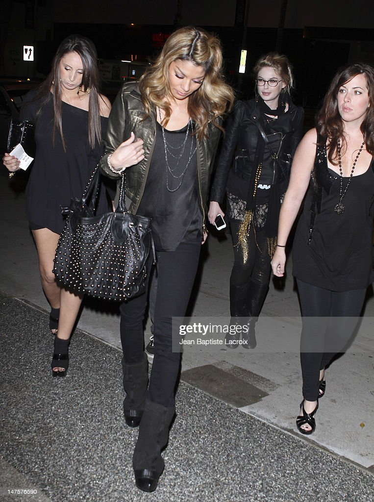 Jaimee Grubbs alleged Tiger Woods mistress sighting in West Hollywood on December 5 2009 in Los Angeles California