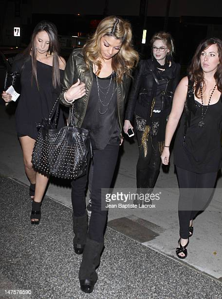 Jaimee Grubbs alleged Tiger Woods mistress sighting in West Hollywood on December 5 2009 in Los Angeles California