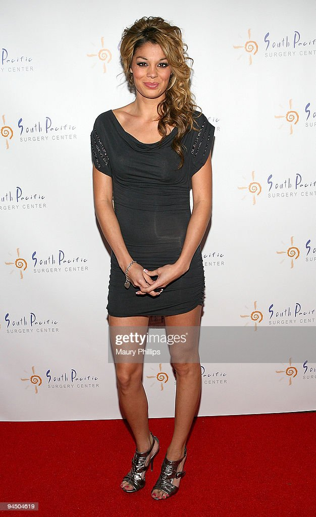Jaimee Grubbs arrives at Simine Hashemizdeh's Holiday Red Carpet Event To Benefit M Benga Foundation on December 10, 2009 in Hollywood, California.