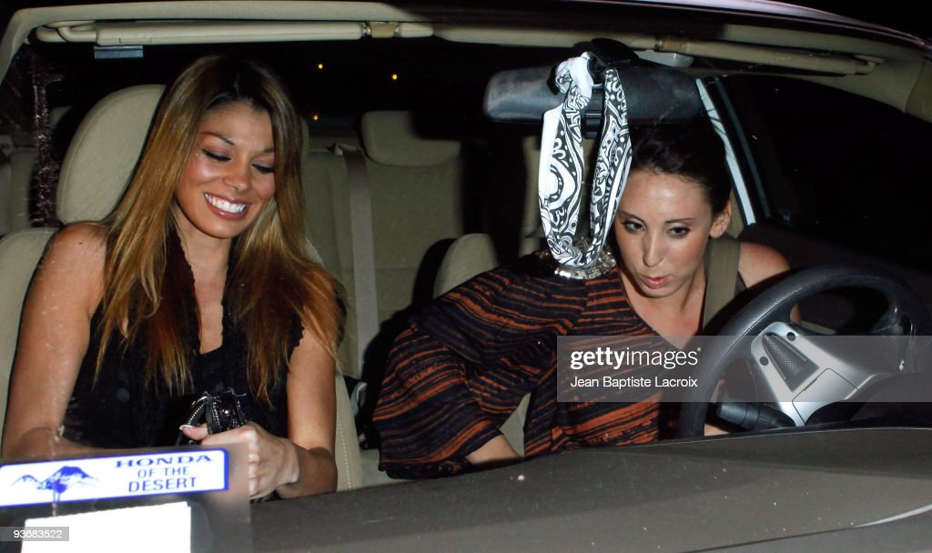 Jaimee Grubbs (L) sighting in Studio City on December 2, 2009 in Los Angeles, California.