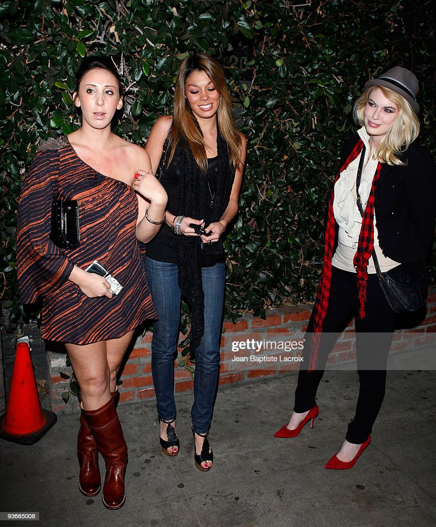 Jaimee Grubbs (C) sighting in West Hollywood on December 2, 2009 in Los Angeles, California.