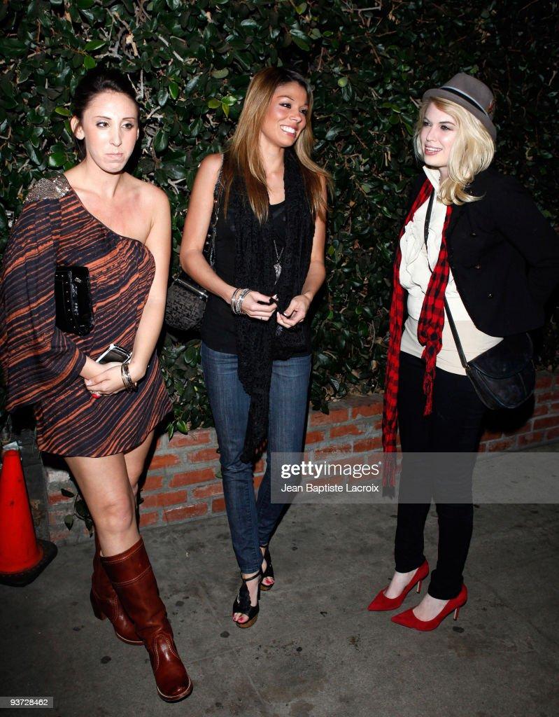 Jaimee Grubbs (C) sighting in West Hollywood on December 2, 2009 in Los Angeles, California.