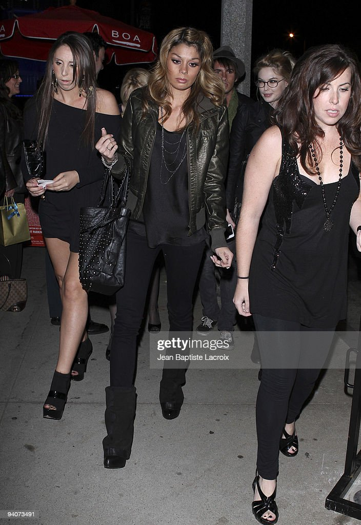 Jaimee Grubbs sighting in West Hollywood on December 5, 2009 in Los Angeles, California.