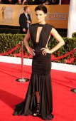 Jaimie Alexander arrives at the 19th Annual Screen Actors Guild Awards at the Shrine Auditorium on January 27 2013 in Los Angeles California