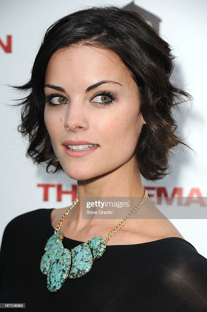 Jaimie Alexander arrives at the 'The Iceman' - Los Angeles Premiere on April 22, 2013 in Hollywood, California.