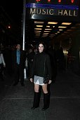 Jaimie Alexander attends Adele Live in New York City at Radio City Music Hall on November 17 2015 in New York City