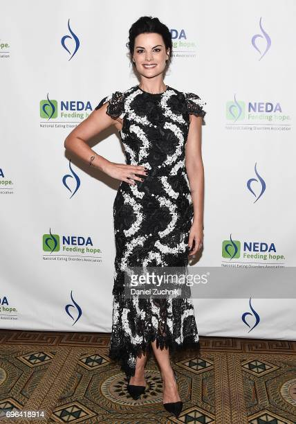 Jaimie Alexander attends the 15th Annual Benefit Gala 'An Evening Unmasking Eating Disorders' hosted by The National Eating Disorder Association at...