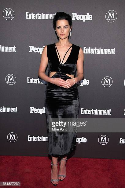 Jaimie Alexander attends the 2016 Entertainment Weekly People New York Upfront at Cedar Lake on May 16 2016 in New York New York