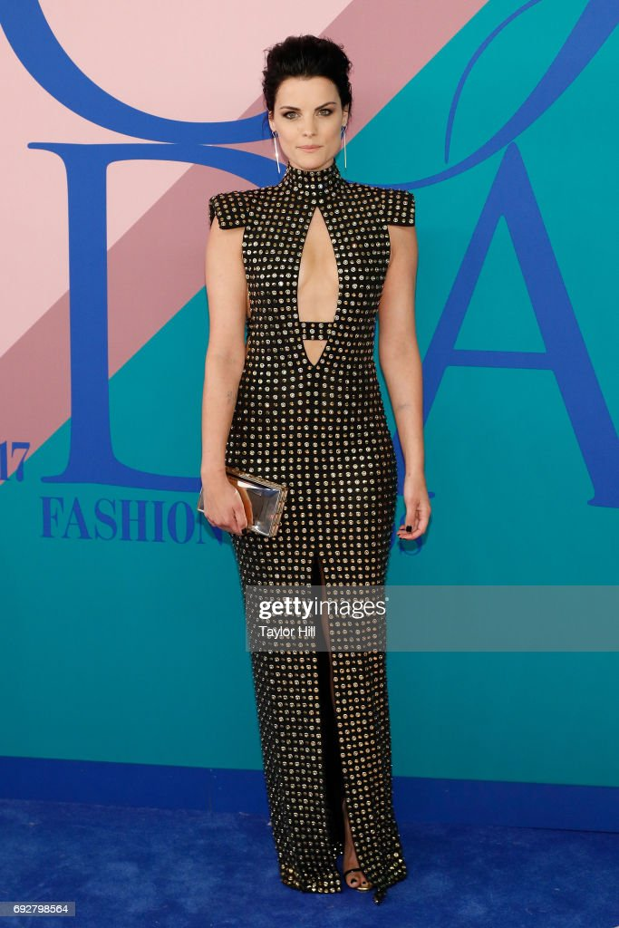 Jaimie Alexander attends the 2017 CFDA Fashion Awards at Hammerstein Ballroom on June 5, 2017 in New York City.