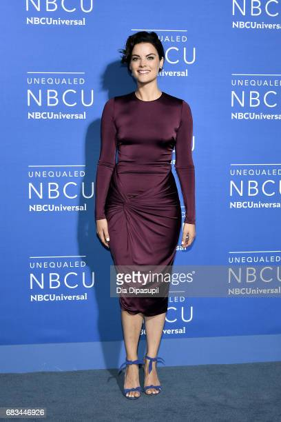 Jaimie Alexander attends the 2017 NBCUniversal Upfront at Radio City Music Hall on May 15 2017 in New York City