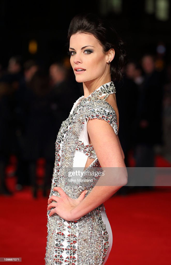 Jaimie Alexander attends the European Premiere of The Last Stand at Odeon West End on January 22, 2013 in London, England.