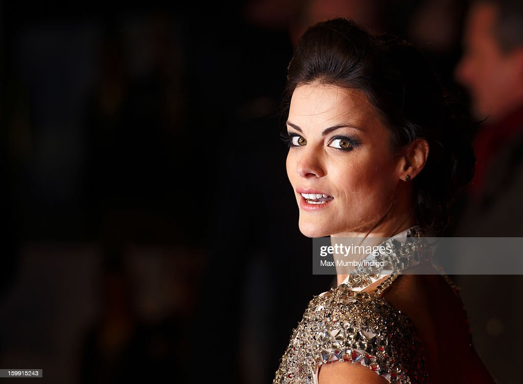 Jaimie Alexander attends the European Premiere of 'The Last Stand' at Odeon West End on January 22, 2013 in London, England.