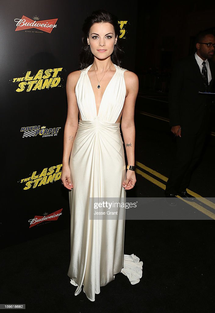Jaimie Alexander attends 'The Last Stand' World Premiere at Grauman's Chinese Theatre on January 14, 2013 in Hollywood, California.