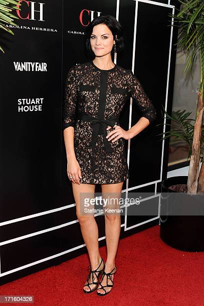 Jaimie Alexander attends Vanity Fair And CH Carolina Herrera Celebrate The Opening Of The CH Carolina Herrera Boutique On Rodeo Drive at Carolina...