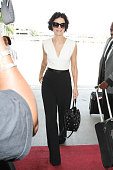 Jaimie Alexander is seen at LAX on August 13 2015 in Los Angeles California